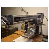 """BUY IT NOW--Lot #446, Powr Kraft 10"""" Radial Arm Saw, $100"""