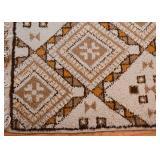 Small Vintage Moroccan Rug