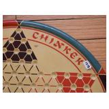 Vintage Chinese Checkers Game Board (1938)