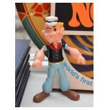 Vintage Popeye Toys