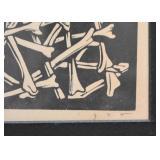 "Woodblock Print - ""Voodoo"" (Artist"