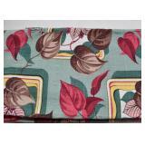 Vintage Barkcloth Curtains / Drapes - Pair