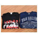 Concert T-Shirts / Tees (Van Halen Tee is SOLD)