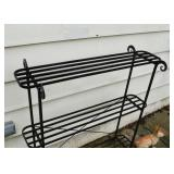 Iron Plant Stand / Shelf