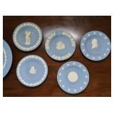 Wedgwood Jasperware Miniature Plates & Ashtrays