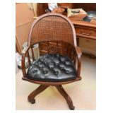 Desk Chair with Cane Back
