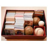 Baseball Cards & Baseballs