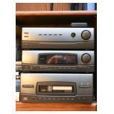 Panasonic Bookshelf Stereo System