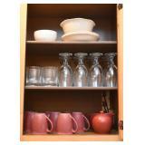 Coffee Mugs, Glassware, Stemware, Bowls