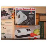 KitchenAid Hand Mixer, Knife Sharpener