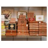 Lots of Cigar Boxes