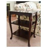 Traditional 3-Tiered End Table