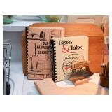 Cookbooks, Cutting Boards, Mezzaluna / Herb Chopper
