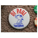 De Paul Blue Demons Button