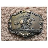 Tombstone Express Belt Buckle