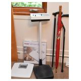 Bathroom Scale, Upright Health O Meter Scale