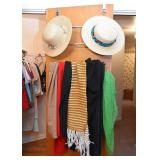 Scarves & Straw Hats