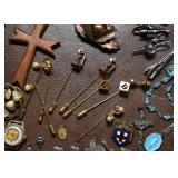 Rosaries, Costume Jewelry