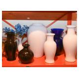 Pottery & Glass Vases