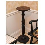 Wood Pedestal / Plant Stand