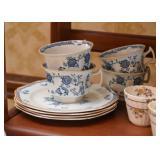 Vintage China Teacups / Demitasse Cups Set