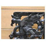 Carved Panel Bracket with Griffin or Eagle