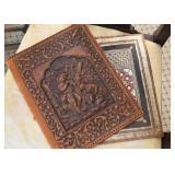 Tooled Leather Folder