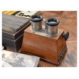 Vintage French Stereoscope with Slides