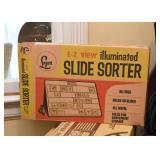 EZ View Illuminated Slide Sorter