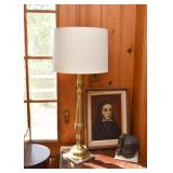 Brass Table Lamp (there are 2 of these)