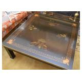 Asian Black Lacquer Coffee / Cocktail Table