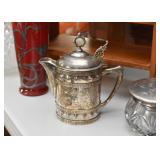 Silver Plate Teapot