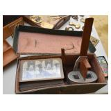 Stereograph / Stereoscope with Slides