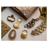 Brass Items, Locks & Hardware