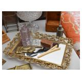 Vanity Tray with Mirror