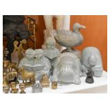 Brass Miniatures, Collectible Figurines