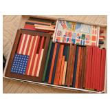 Vintage Wooden World Flags Toy