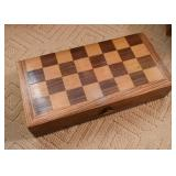 Chess Board with Game Pieces