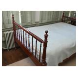 Wooden Spindle Bed