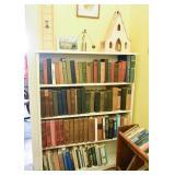 White Bookshelf, Books