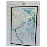 Vintage Chicago Map