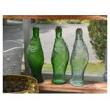 Glass Fish Bottles