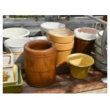 Wooden Container, Planters & Flower Pots