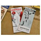 1960 Football and Baseball Schedules