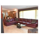 Large Dania Sectional Sofa