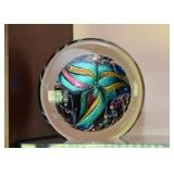 Art Glass Sculpture / Paperweight, Signed & Dated