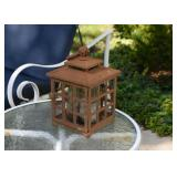 Iron Garden Lantern (there is a pair of these)