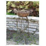 Rusty Iron Garden Planter