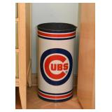 Chicago Cubs Trash Can