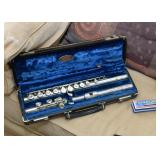 Flute with Case - Musical Instrument